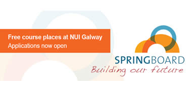 NUI Galway Provide Free Courses under Government Up-skilling Initiative -image