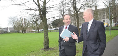 Minister Martin announces significant R&D collaboration -image