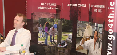 Successful NUI Galway Graduate Studies Fair-image