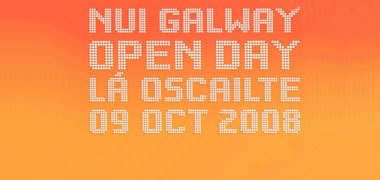 NUI Galway Opens its Doors for Open Day 2008 -image