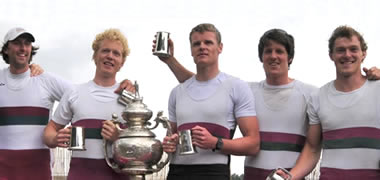 NUI Galway Rowers Claim Victory in National Championships-image