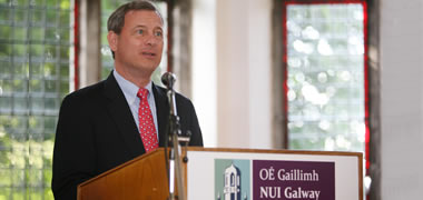 Chief Justice Roberts Teaching at NUI Galway-image
