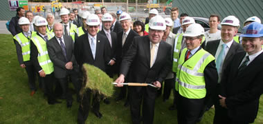 Taoiseach Marks Official Start of Construction on New 'Green' Engineering Buildi-image