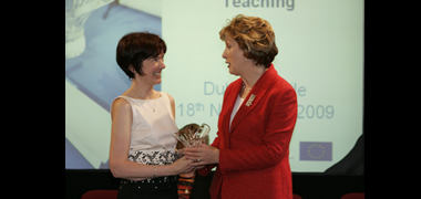President McAleese Honours NUI Galway Teacher at National Awards Ceremony-image
