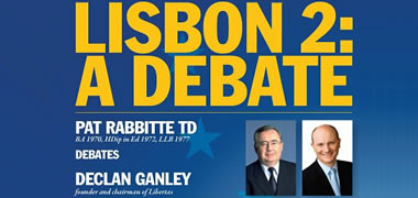 NUI Galway Alumni Host Lisbon Debate with Pat Rabbitte and Declan Ganley-image