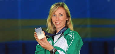 NUI Galway Alumni Group Presents Olympian Olive Loughnane -image