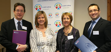 NUI Galway and Local Charity COPE Galway Sign Partnership Agreement-image