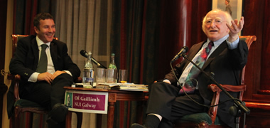NUI Galway 'Interview with Michael D. Higgins' in Aid of COPE Galway-image