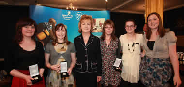 Four NUI Galway Students Receive Gaisce Gold Award-image