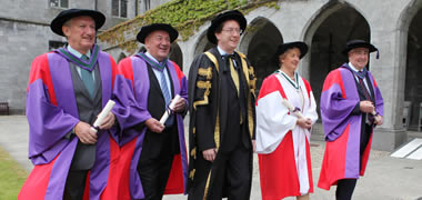NUI Galway Honour Four Outstanding Individuals with Honorary Degrees-image