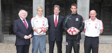 Liverpool Football Club Visit NUI Galway-image