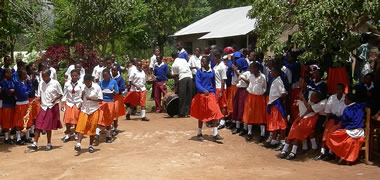NUI Galway Graduates Volunteer to Teach in Tanzania-image