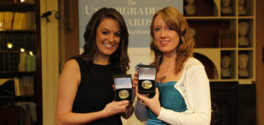 NUI Galway Receives Two Undergraduate Awards at the 2010 Ceremony-image