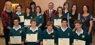 NUI Galway Awards Business Certificate to Over 270 Junior Certificate Students -image