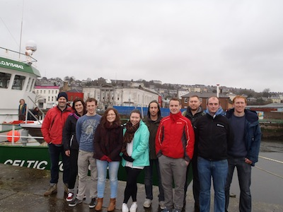 Marine economics students at NUI Galway take to the waves-image