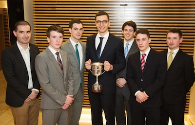 CFA Challenge win for NUI Galway economics students-image