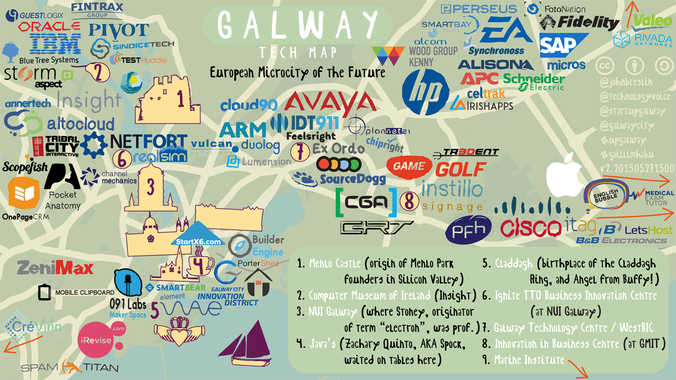 Galway Tech Map