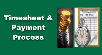 Timesheets and Payment Process