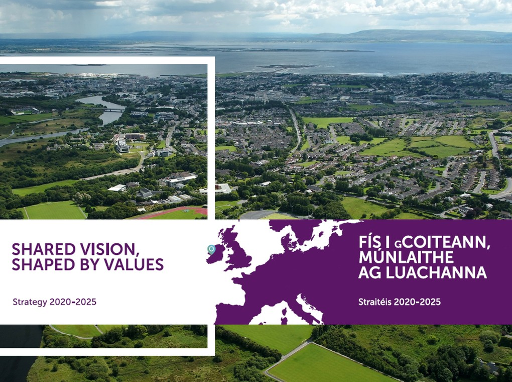 Share Vision, Shaped by Values is our University's strategic plan